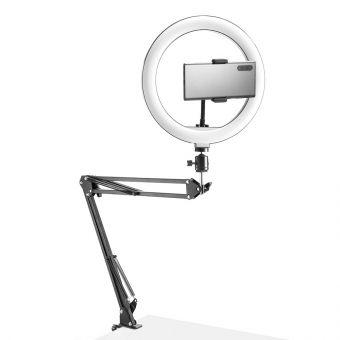 Suport de telefon cu ringlight pentru video si live