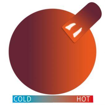 Gel Termic Cupio Aubergine-Orange