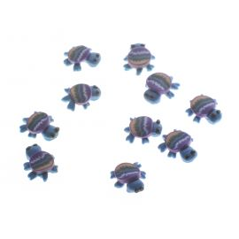 Set doua broscute albastre