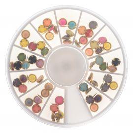 Carusel buline colorate