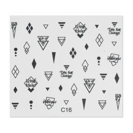 Tatuaj unghii C16