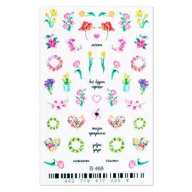 Tatuaj 3D unghii B468