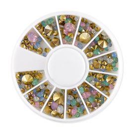Carusel mini multimix cristale conice