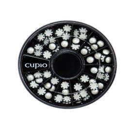 Carusel mini buline alb/negru