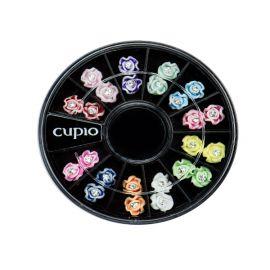 Carusel mini flori cu pietricica 3D