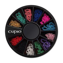 Carusel mini cu lanturi colorate