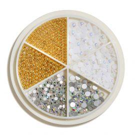 Carusel mix design White&Gold