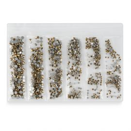 Cristale unghii set 1440 buc Flash