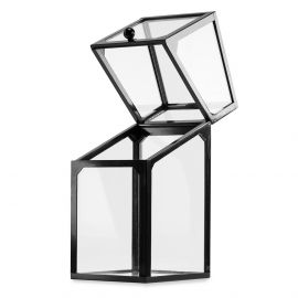 Cutie de depozitare din sticla