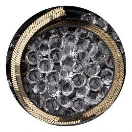 Decor unghii cristale AB cu lant