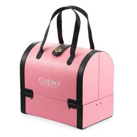 Geanta cosmetica cu manere - Roz