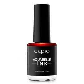 Acuarela lichida Aquarelle INK Cupio - Metallic Red