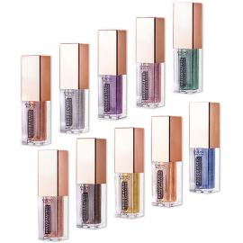 Kit 10 farduri Holographic Liquid Eyeshadow