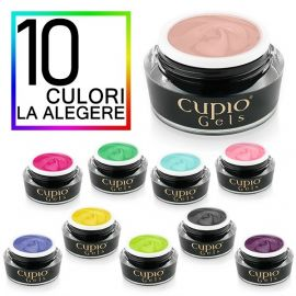 Kit 10 geluri color ultra pigmentate Cupio