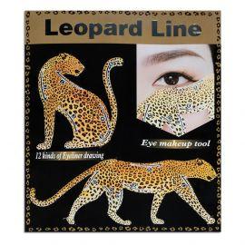 Sabloane machiaj Leopard