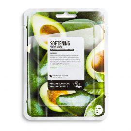 Masca de fata pentru catifelare cu avocado