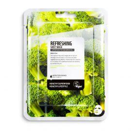 Masca de fata efect racoritor cu broccoli