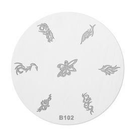 Matrita stampila B102