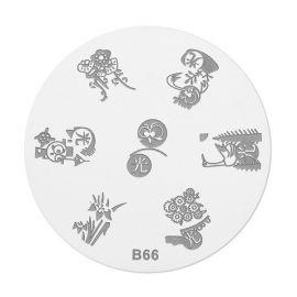 Matrita stampila B66