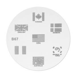 Matrita stampila B67