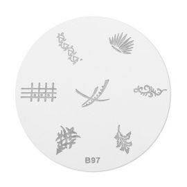 Matrita stampila B97