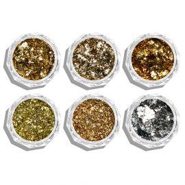 Mix sclipici si pigmenti de unghii #11