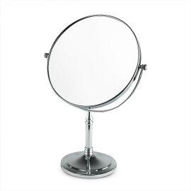 Oglinda cosmetica cu picior din inox 20cm