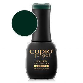 Oja semipermanenta Cupio To Go! Precious Green 15ml