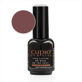 Gel Lac 3 in 1 Cupio One Step Dark Brown 15ml - R235