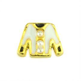 Decor metalic Nail Art 3D M02