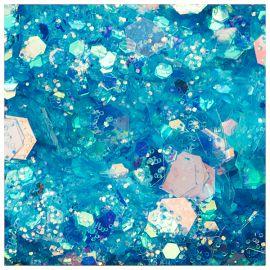 Paiete holo hexa blue