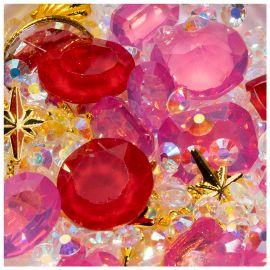 Cristale unghii mix box #11
