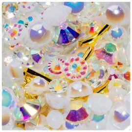 Cristale unghii mix box #06