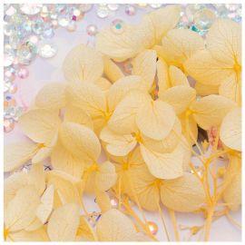 Flori decor de unghii cu cristale #07