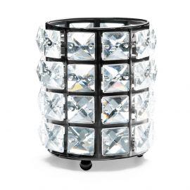 Suport pensule cu cristale - Fashion Black
