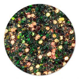 Paiete chameleon glitter Copper Green