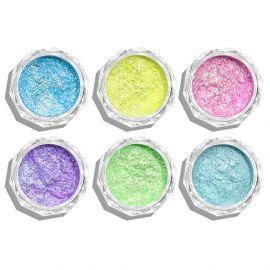 Pigmenti de unghii Neon set 6 #03