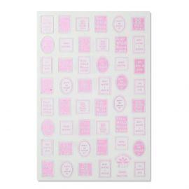 Tatuaj unghii R237 pink