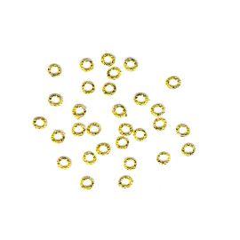 Set cerculete aurii 0.5cm