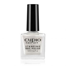 Lac de unghii pentru stampila Cupio Pearly White 10ml