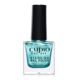 Lac de unghii pentru stampila Cupio Metallic Turquoise 10ml