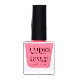 Lac de unghii pentru stampila Cupio Warm Pink 10ml