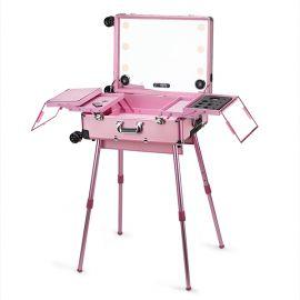 Statie profesionala de make-up Fashion - Pink