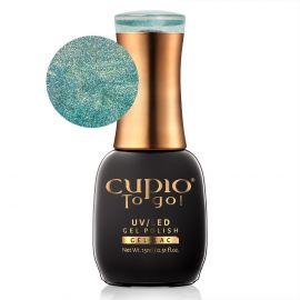 Oja semipermanenta Cupio To Go! Holo's Turquoise 15ml