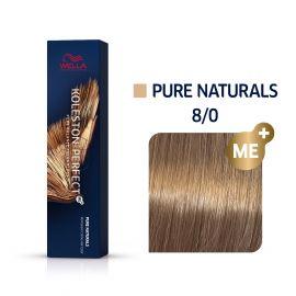 Vopsea de par Wella Professionals Koleston Perfect 8/0 Blond Deschis Natural