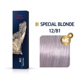 Vopsea de par Wella Professionals Koleston Perfect 12/81 Blond Special Albastrui Cenusiu