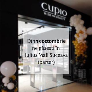 De mâine ne găsiți și în @iuliusmallsuceava ???????????? Primii 100 de clienți primesc cadou un ruj lichid Mattix (nuanțe în limita stocului disponibil) ???? Abia așteptăm să ne cunoaștem ???? • #Cupio #CupioStore #WishForBeauty