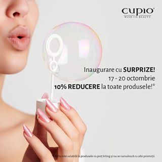 Hello beauty ???? Te așteptăm în cel mai nou magazin #Cupio din @vivoclujnapoca cu promoții și reduceri ???????????? • #CupioStore #WishForBeauty #CupioNewStore