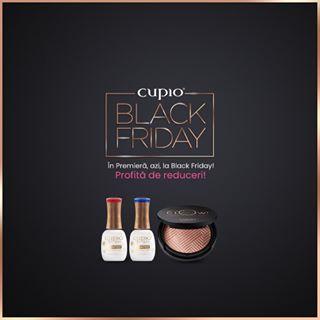 Azi e ultima zi de #BlackFriday! ???? Ți-am pregătit produse noi la reducere: https://www.cupio.ro/blackfriday/ ????❤️